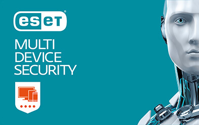 Antivirus en internetbeveiliging Eset Multi Device Security